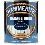 Hammerite Garage Door Oxford Blue