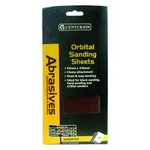 Assorted grit 1/3 Orbital Sanding Sheet 10pk