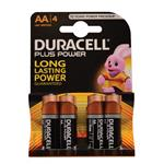 Duracell AA Batteries Card of 4