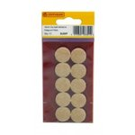 19mm Diameter Self Adhesive Feltguard Pads (Pack of 10)