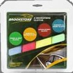 4Pk Microfibre Cloths